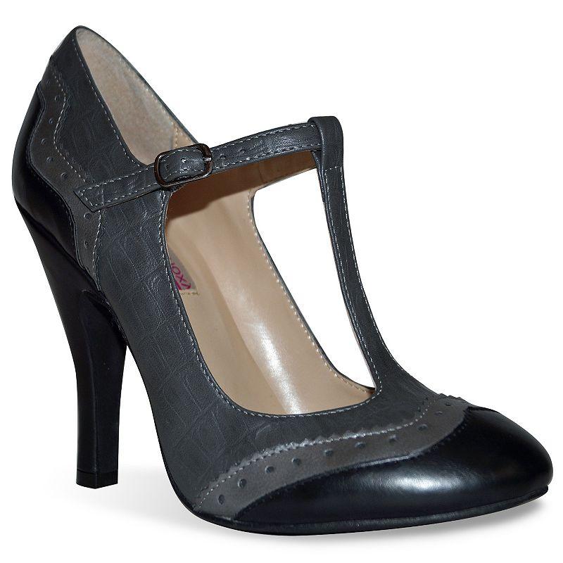 Dolce by Mojo Moxy Harper Women's T-Strap High Heels