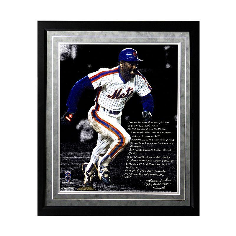 Steiner Sports New York Mets Mookie Wilson 1986 Buckner Game Facsimile 16