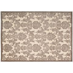 Click here to buy Nourison Graphic Illusions Floral Rug.