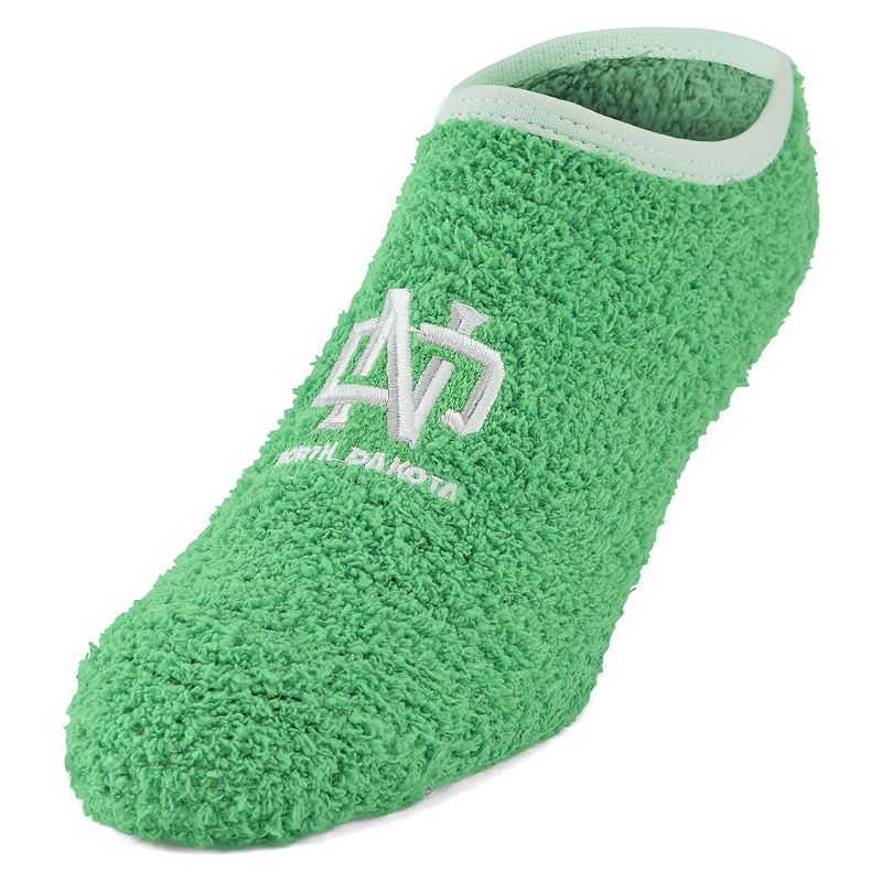 Women's North Dakota Chenille Slipper Socks