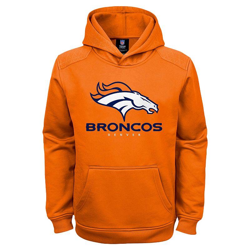 Boys 8-20 Denver Broncos Performance Hoodie