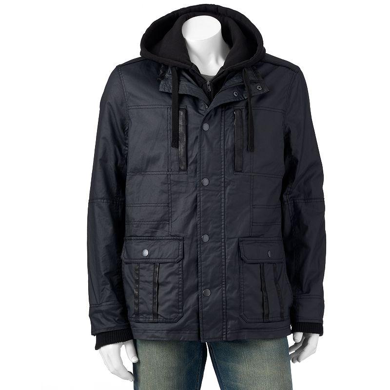 Men's Marc Anthony Slim-Fit Sherpa-Lined Utilitarian Jacket
