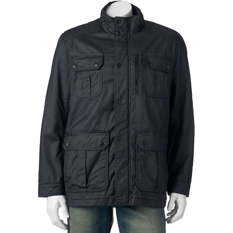 Men's Apt. 9® Modern-Fit 4-Pocket Coated Jacket