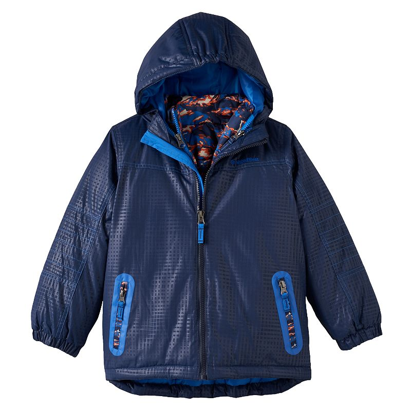 Boys 4-7 Rugged Bear 3-in-1 Systems Jacket