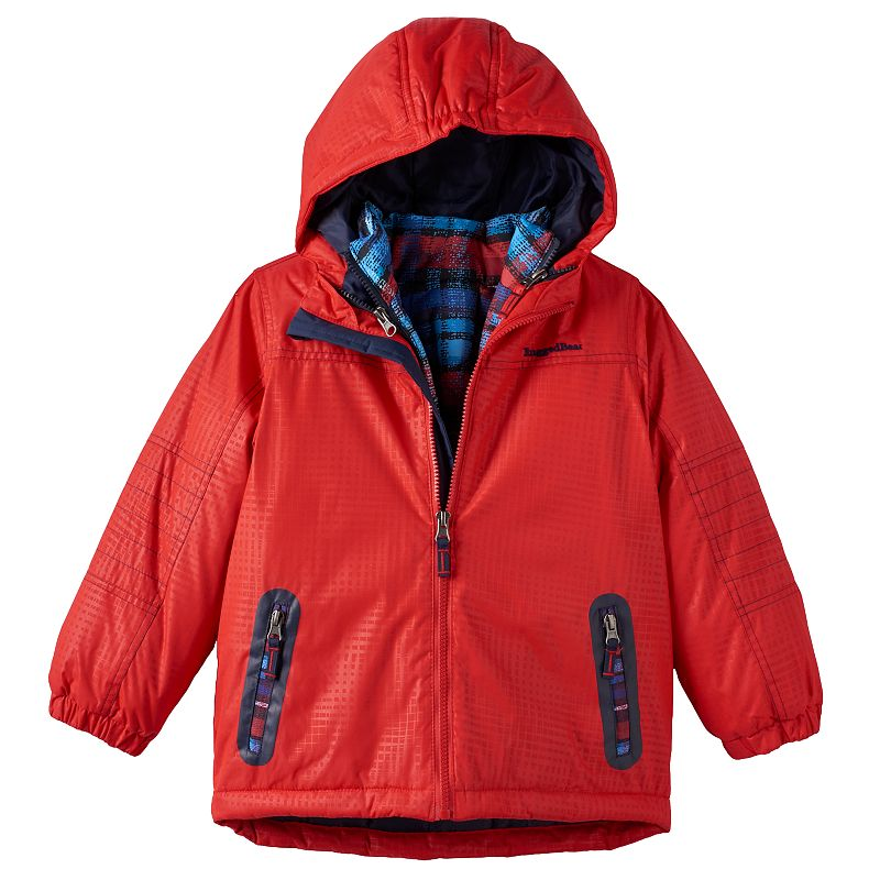 Boys 4-7 Rugged Bear 3-in-1 Solid Systems Jacket