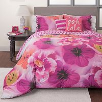 Seventeen Azalea Garden Reversible Comforter Set