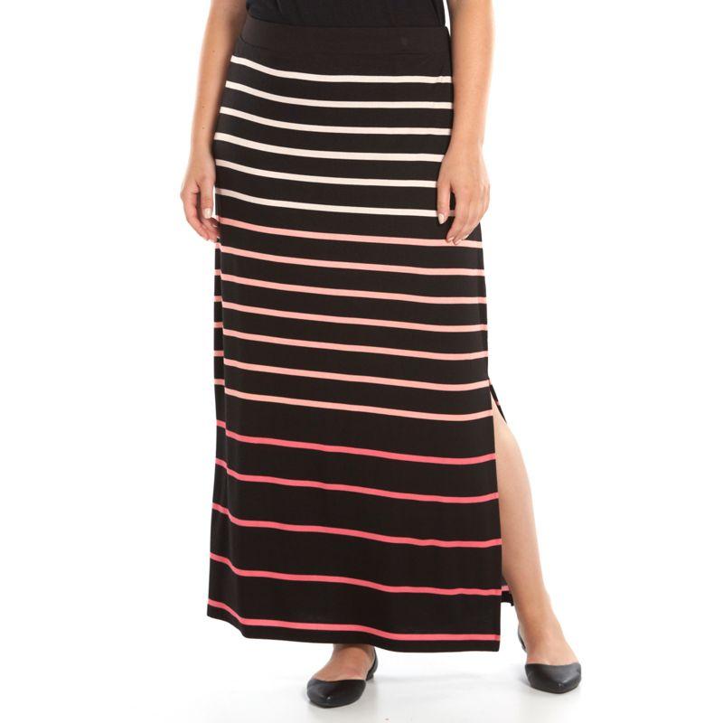 womens waistband maxi skirt kohl s