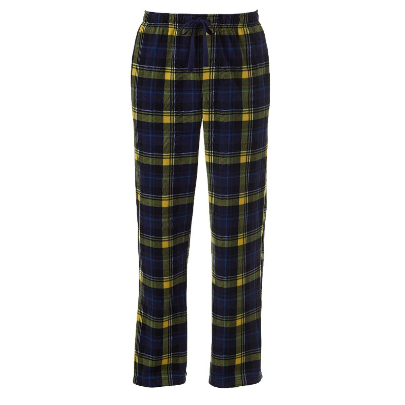 Big & Tall Croft & Barrow Patterned Microfleece Lounge Pants