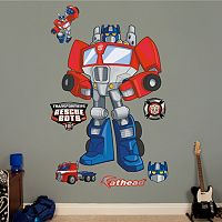 Transformers Rescue Bots Optimus Prime Wall Decals by Fathead