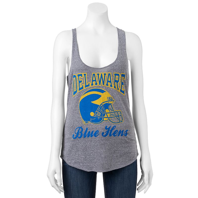 Women's Delaware Blue Hens Knit Racerback Tank Top