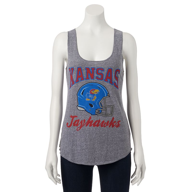 Juniors' Kansas Jayhawks Racerback Tank Top