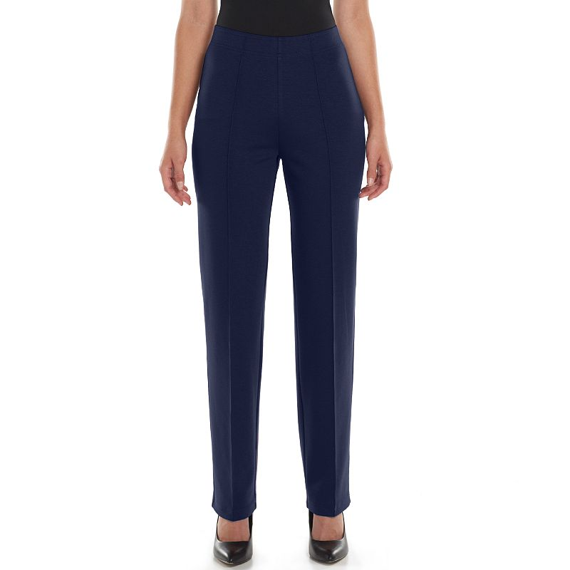 Croft & Barrow® Seam-Front Pull-On Pants - Women's