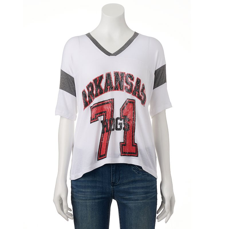 Women's Arkansas Razorbacks Jersey Tee