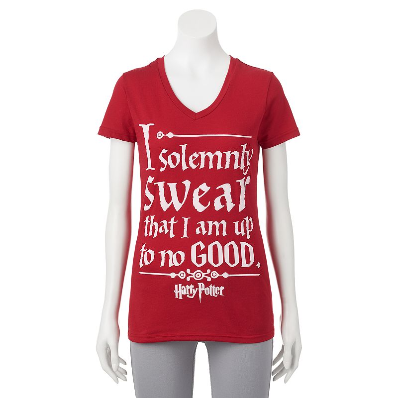 Juniors' Harry Potter ''I Solemnly Swear'' Graphic T-Shirt