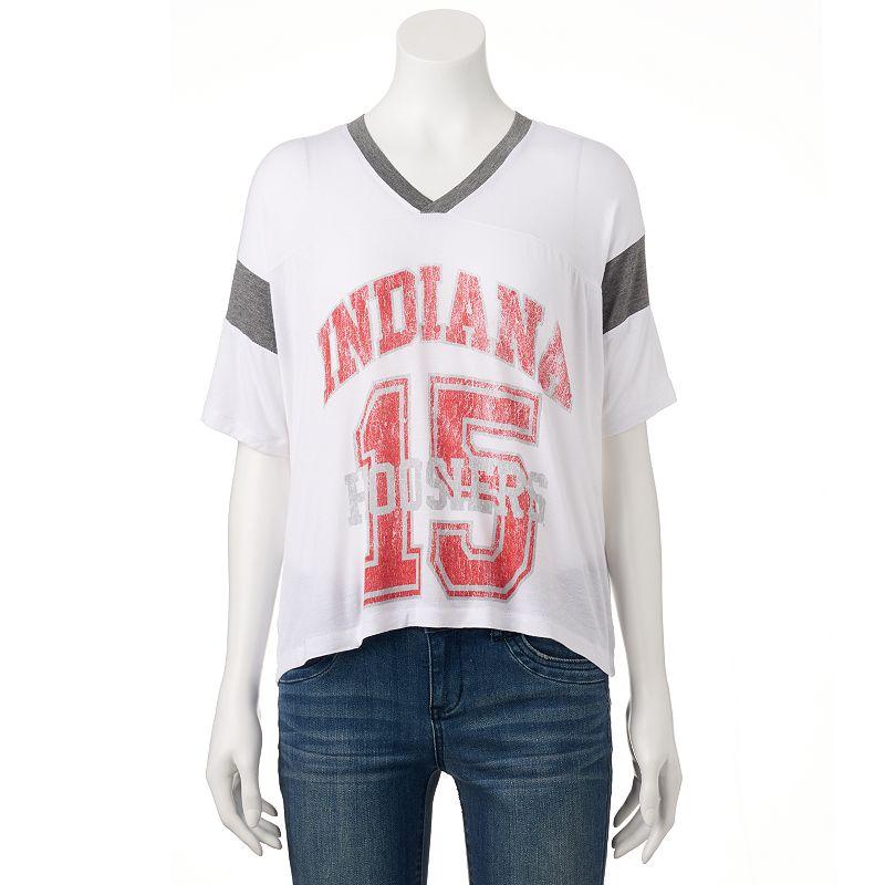 Women's Indiana Hoosiers Jersey Tee