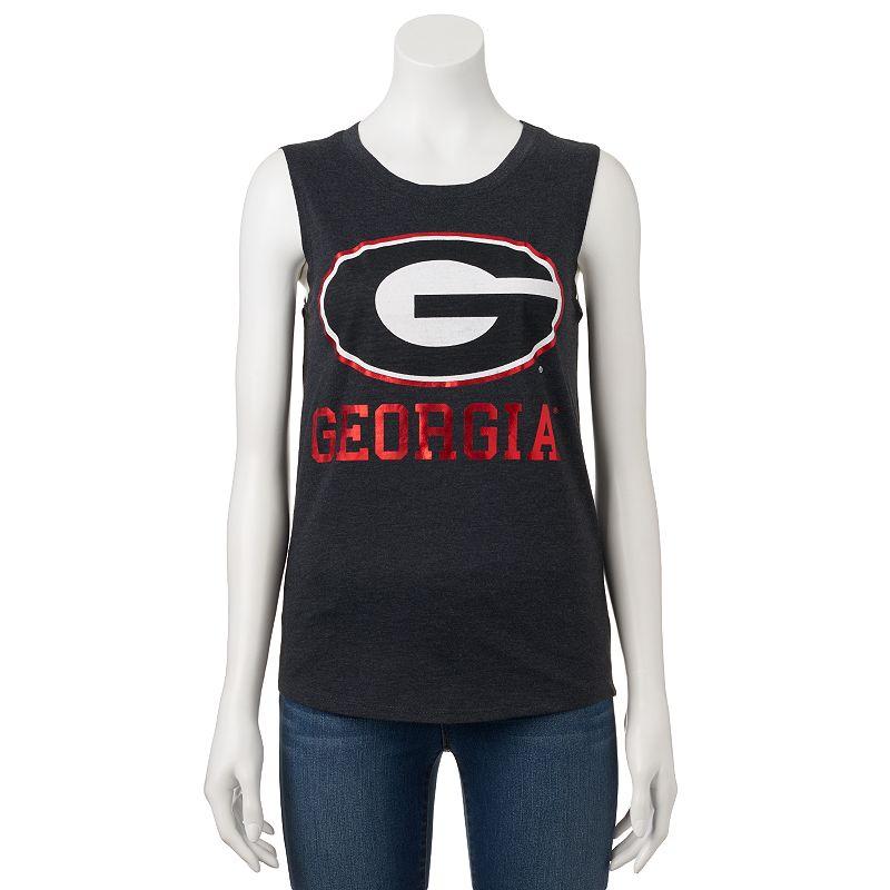 Women's Georgia Bulldogs Knit Tank Top