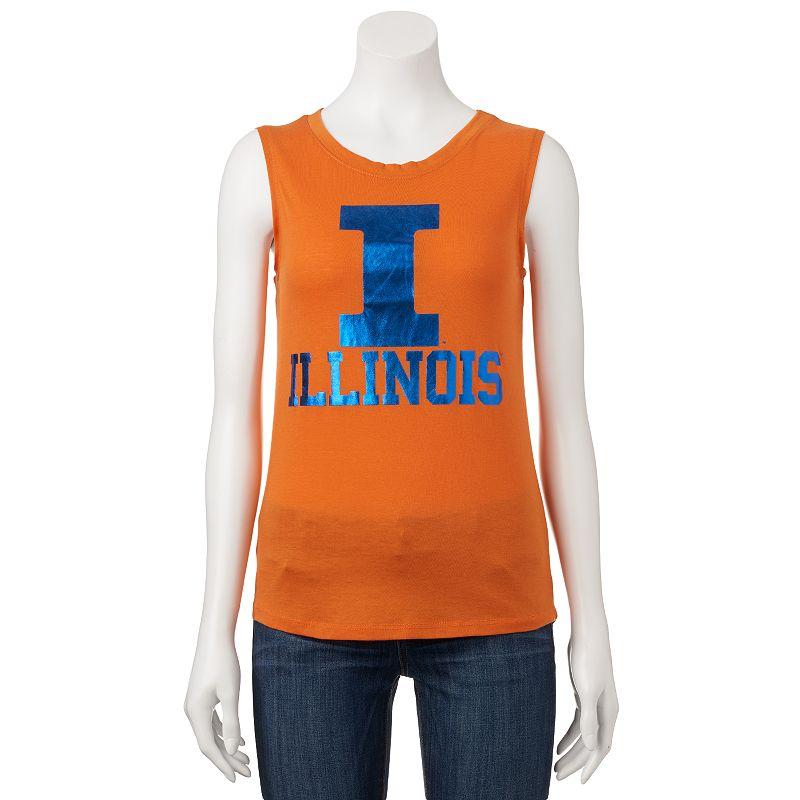Women's Illinois Fighting Illini Knit Tank Top