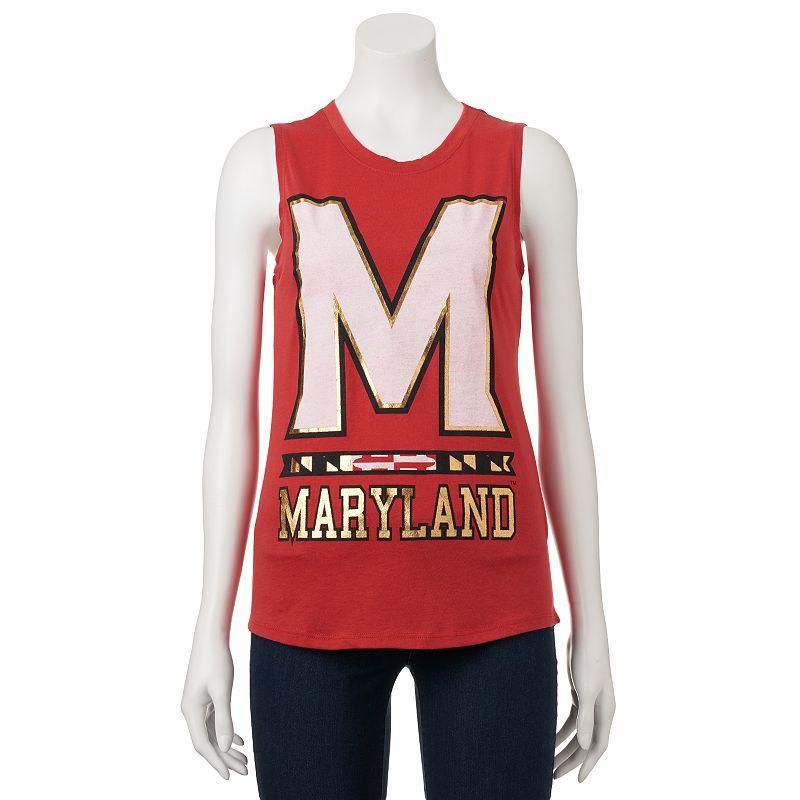 Women's Maryland Terrapins Knit Tank Top