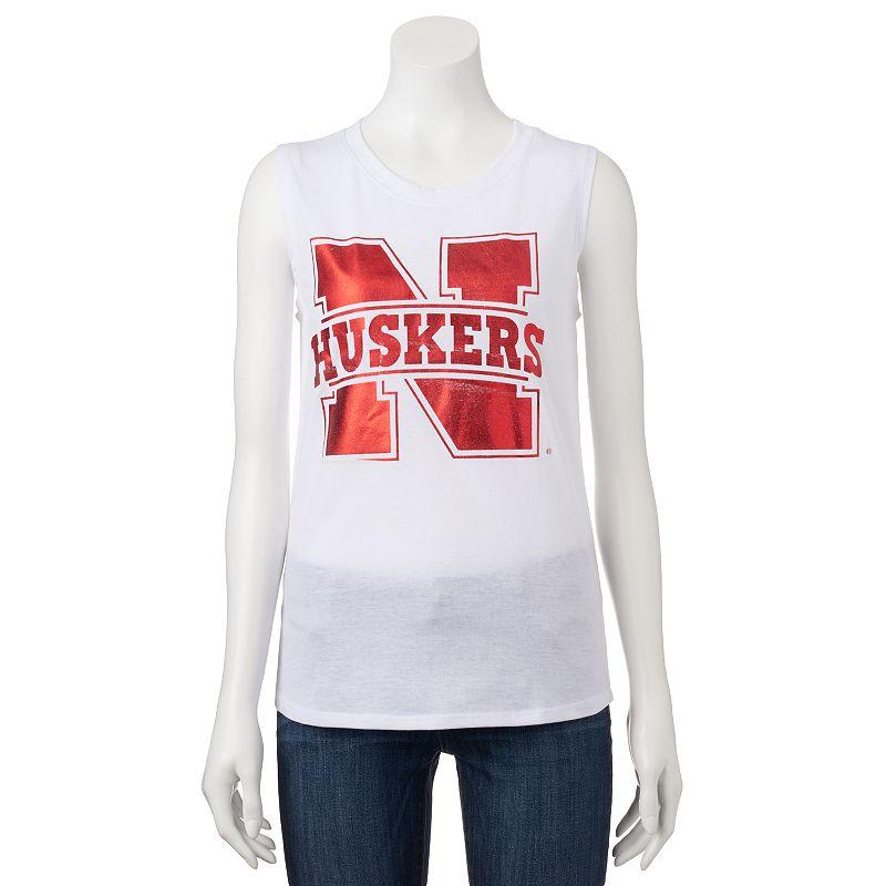 Women's Nebraska Cornhuskers Knit Tank Top