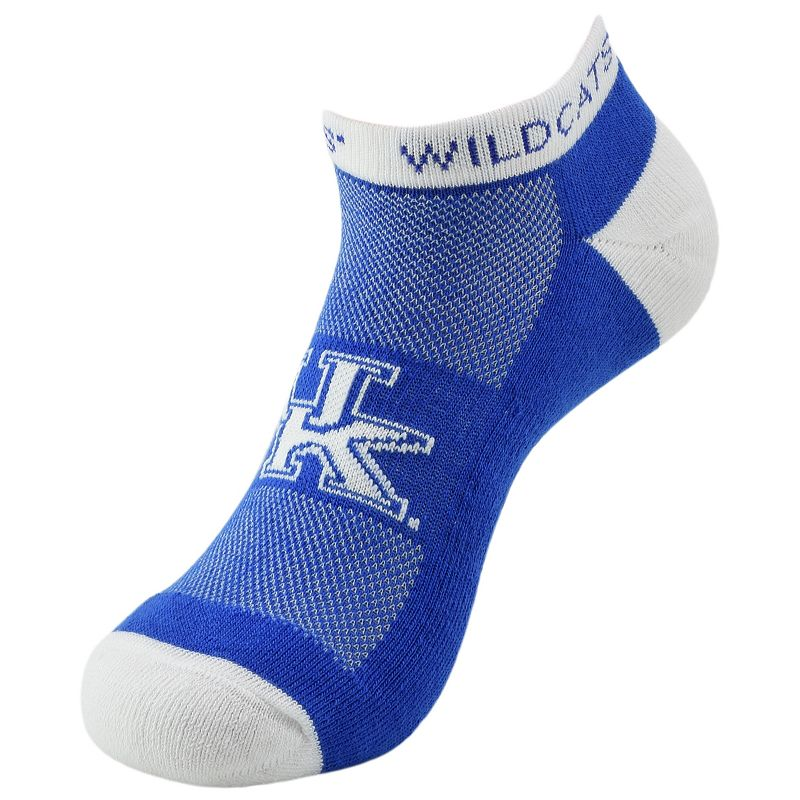 Men's Kentucky Wildcats Spirit No-Show Socks