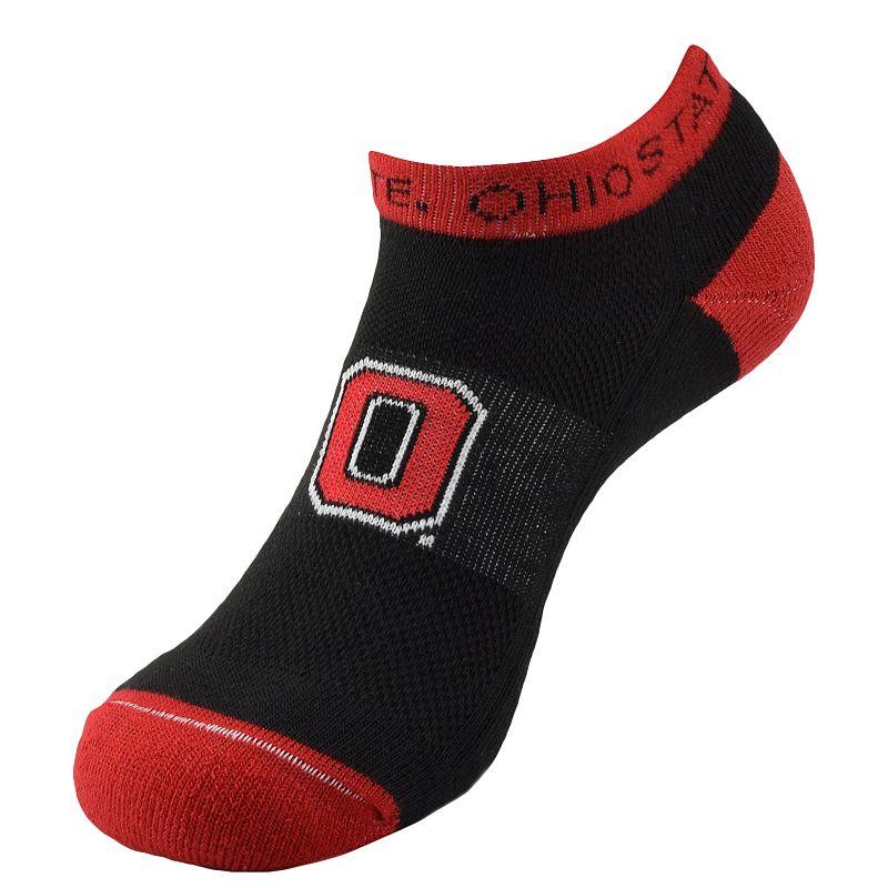 Ohio State Buckeyes Spirit No-Show Socks - Men