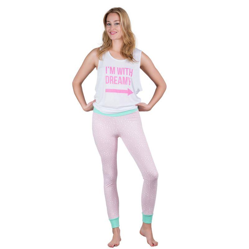 Juniors pajama drama pajamas tank amp leggings pajama set