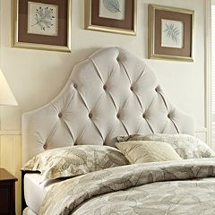 Pulaski Samuel Lawrence Round Top Panel Headboard by