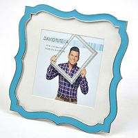 David Tutera Scalloped 4'' x 4'' Frame