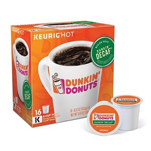 Keurig® K-Cup® Portion Pack Dunkin' Donuts Dunkin' Decaf Coffee - 16-pk.
