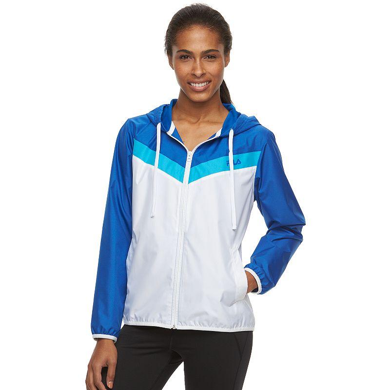 Women's FILA SPORT® Tri-Color Windbreaker Jacket