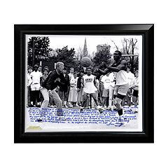 Steiner Sports Notre Dame Fighting Irish Lou Holtz Basketball vs. Tim Brown Facsimile 22\ by