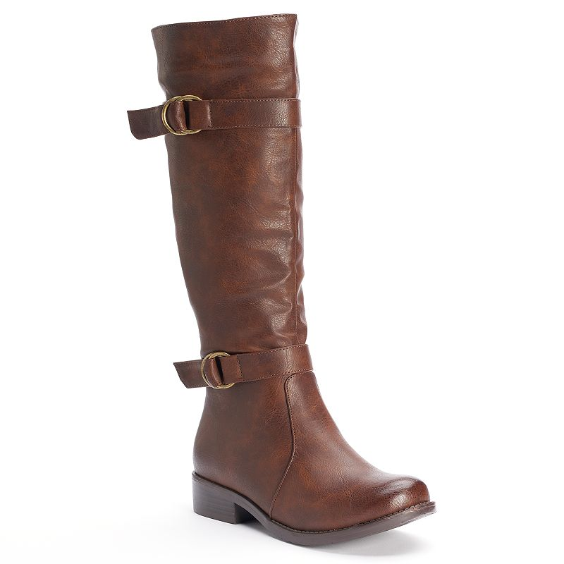 Kisses by 2 Lips Too Too Janet Women's Tall Riding Boots