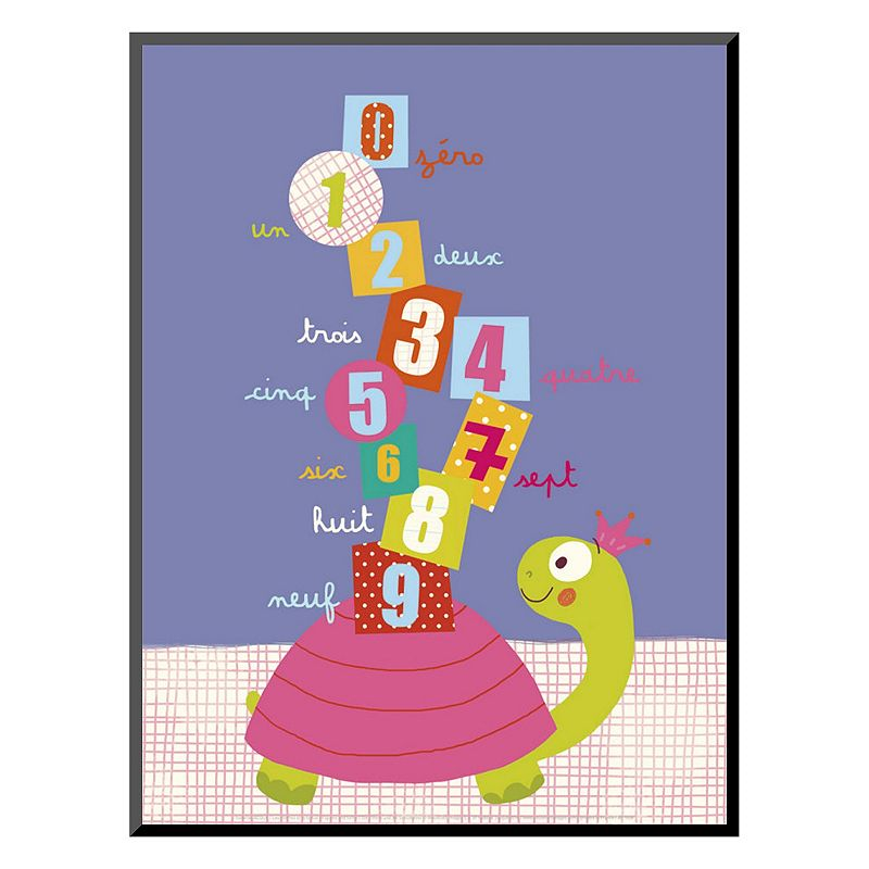 Art.com ''Numbers on a Turtle'' Wall Art