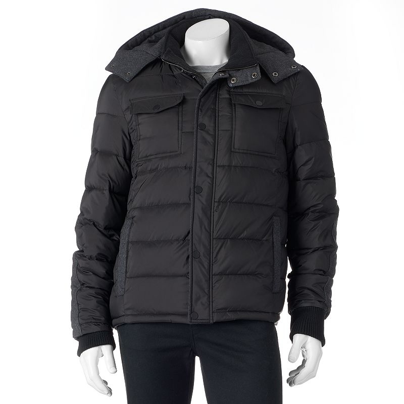 Men's Apt. 9 Modern-Fit Wool Puffer Jacket