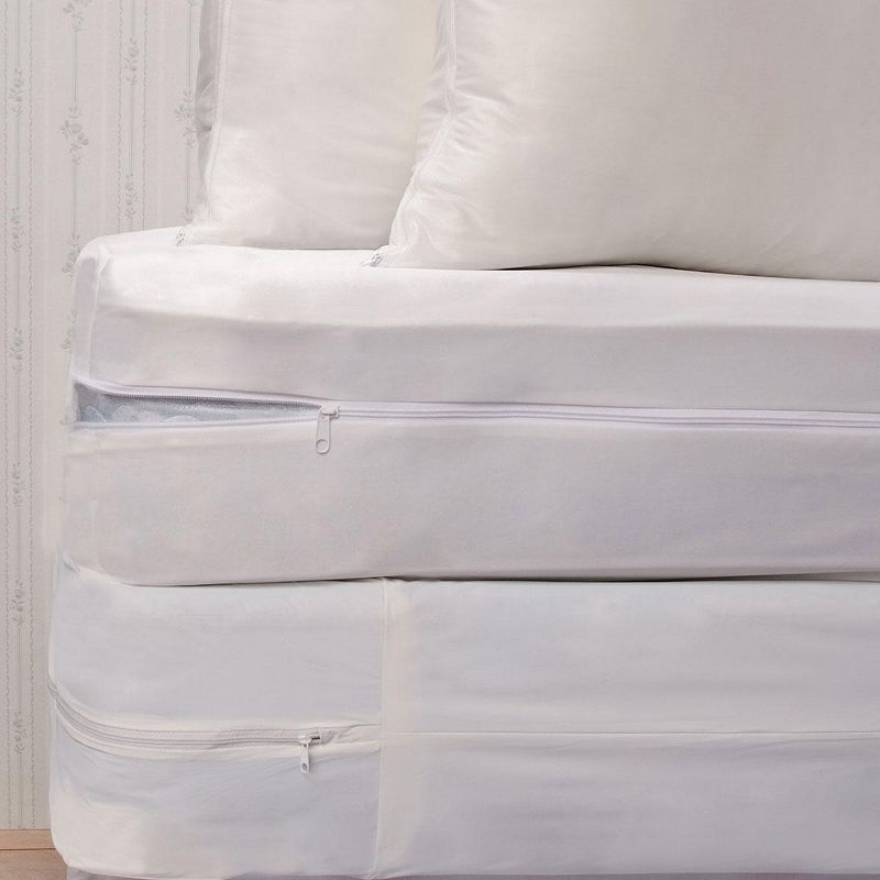 Bed Bug & Dust Mite Barrier Complete 4-pc. 9-in. Bedding Protector Set