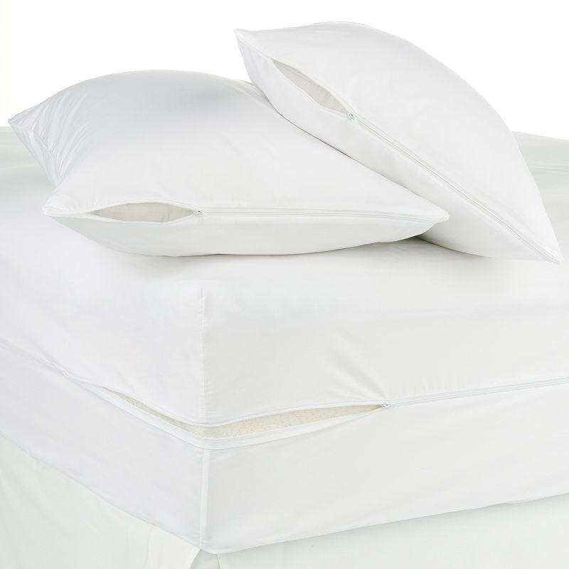 Allergen-Proof 3-pc. 12-in. Mattress & Pillow Protector Set