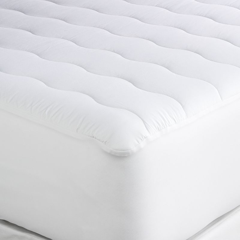 Home Classics Classic Cotton 300-Thread Count Deep-Pocket Mattress Pad