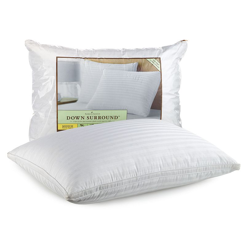 Home Classics Down Surround Medium-Support Pillow