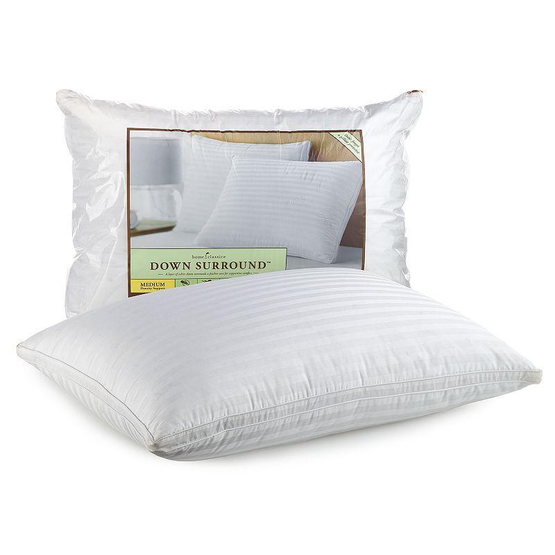 white striped pillow kohl 39 s. Black Bedroom Furniture Sets. Home Design Ideas