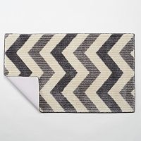 Maples Rugs Layla Chevron Bath Rug - 20'' x 30''