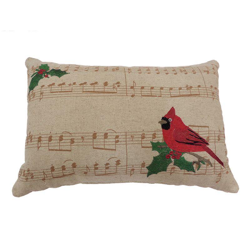 Kohls White Throw Pillows : St. Nicholas Square Cardinal Throw Pillow