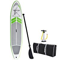Blue Wave Sports Manta Ray 12-foot Inflatable Stand-Up Paddle Board with Hand Pump