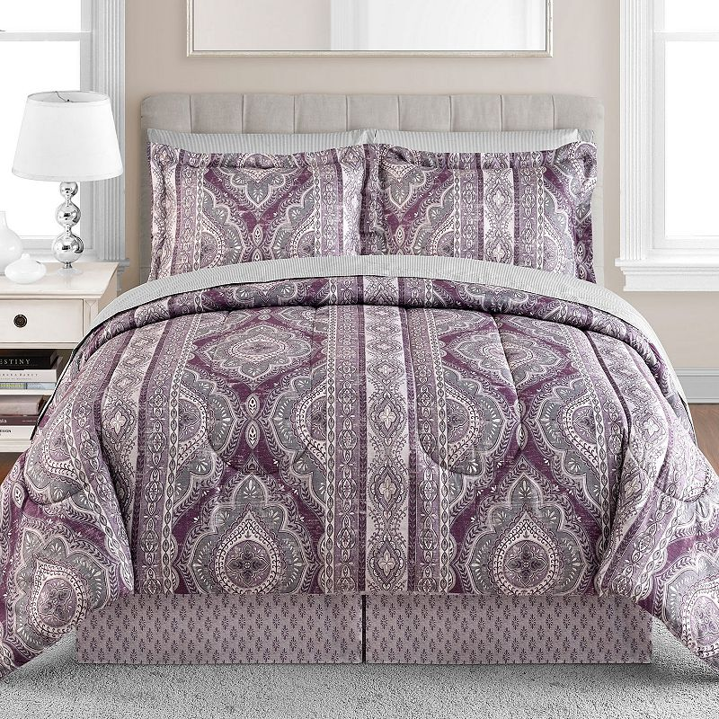 Medallion Stripe 8-pc. Bed Set