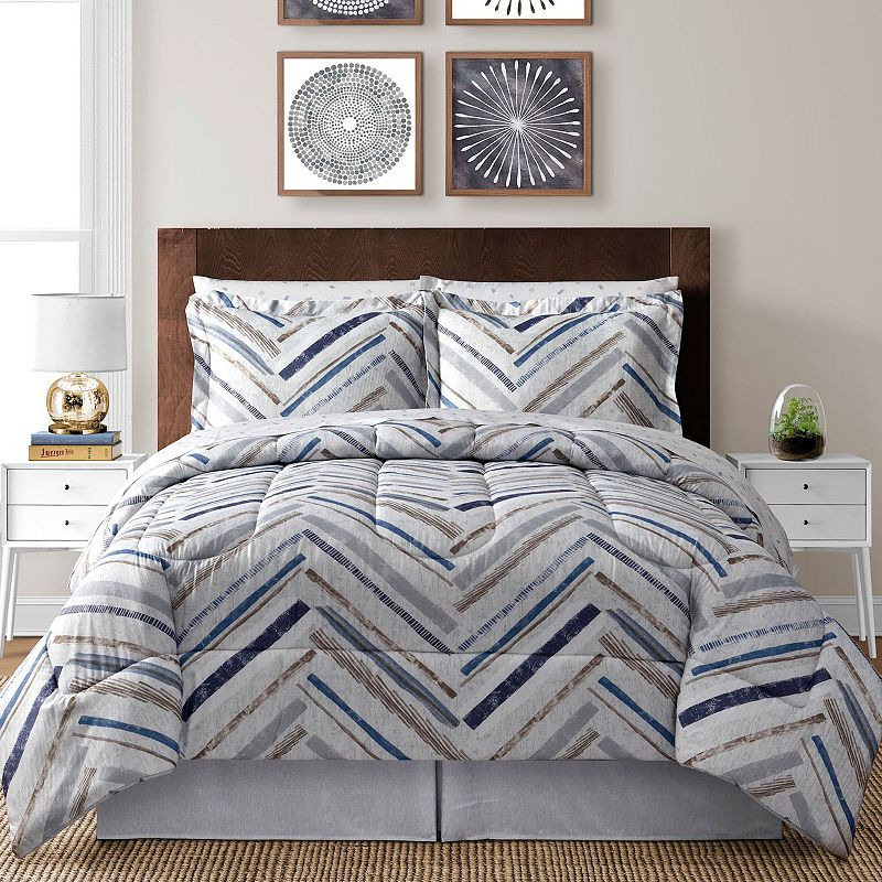 Herringbone 8-pc. Bed Set