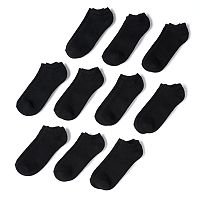 Men's Tek Gear 10-pack Athletic No-Show Socks