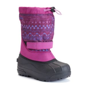 Columbia Powderbug Plus II Girls' Waterproof Winter Snow Boots