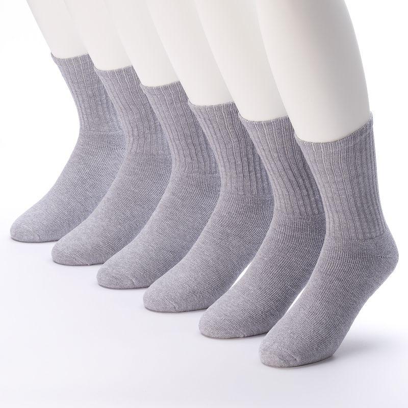 Tek Gear 6-pack Athletic Crew Socks - Men