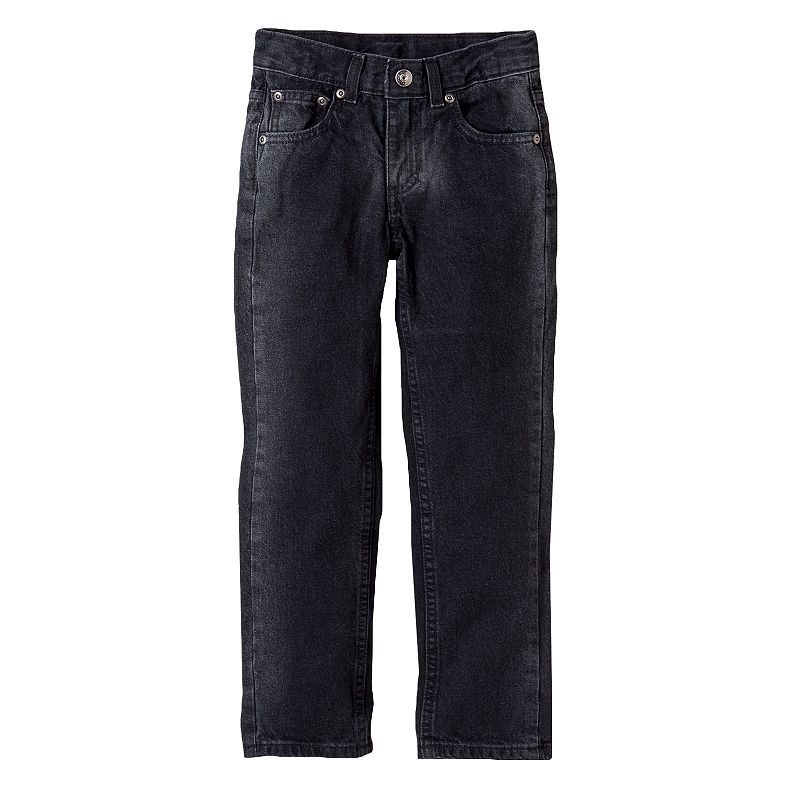 Boys 4-7x SONOMA Goods for Life™ Black Skinny Jeans