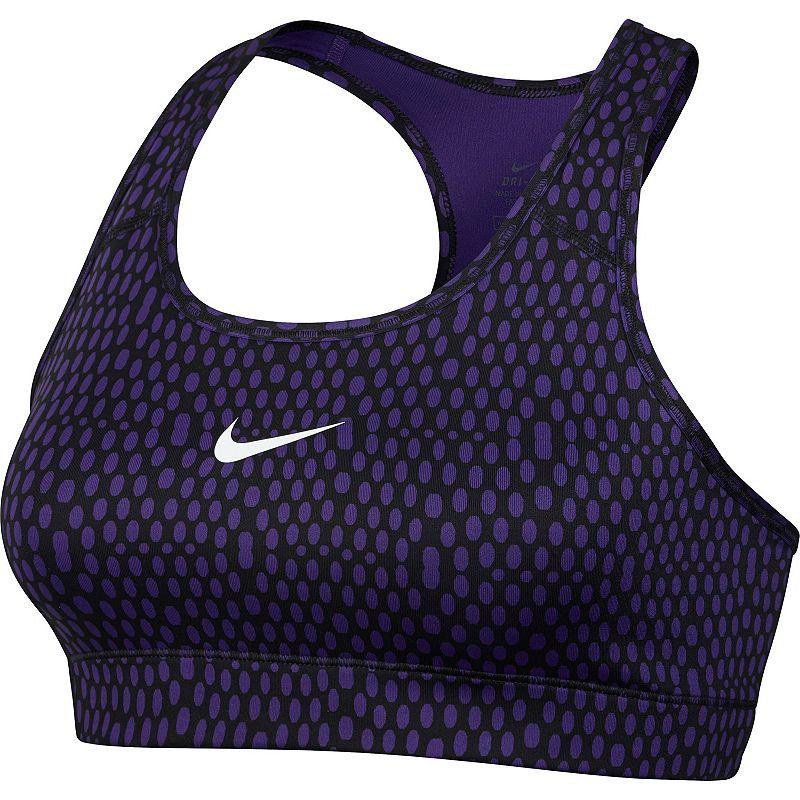 Nike Bra: Victory Dri-FIT Compression Mirror Mesh Sports Bra 683358 - Women's