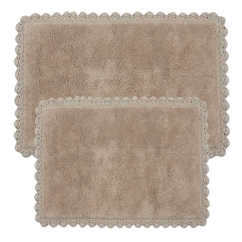 Linen Bath Rugs